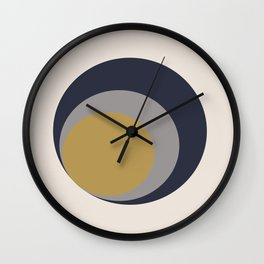 Inverted Circles Wall Clock