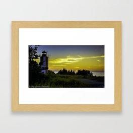 Pt. Prim Lighthouse Framed Art Print