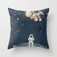 solar collector  Throw Pillow