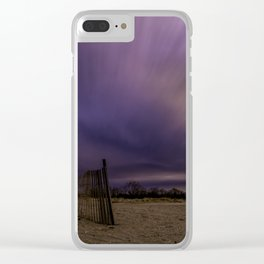 Storm drama Clear iPhone Case