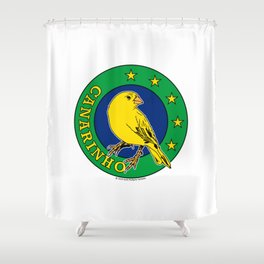 Brasil Canarinho (Little Canary) ~Group E~ Shower Curtain