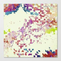 world maps Canvas Prints featuring Maps by MonsterBrown