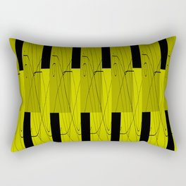 Yellow green Rectangular Pillow