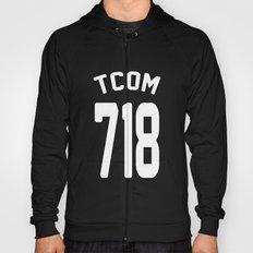 TCOM 718 AREA CODE JERSEY Hoody