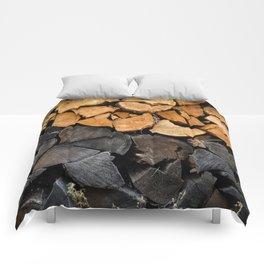 Fire Wood Comforters