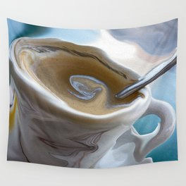 Cappuccino In Sao Palo Wall Tapestry