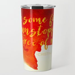 Grey's Anatomy /// Have Some Fire /// Cristina Yang /// Greys Anatomy Travel Mug
