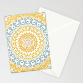 Pastel Pebbles Mandala Stationery Cards