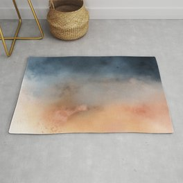 Cleveland Color Stories: Salmon Sunset Rug