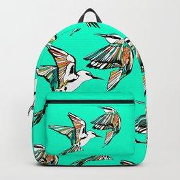 Dancing Rainbow Bee Eater Birds Backpack