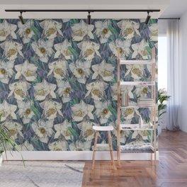 Pattern- daffodil garden 02 Wall Mural