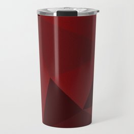 Red Triangles 1 Travel Mug