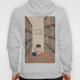 Getting Lost in a Book Hoody