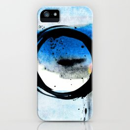 Enso Abstraction o. 113J by Kathy Morton Stanion iPhone Case