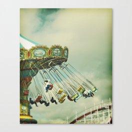 Swingin' Canvas Print