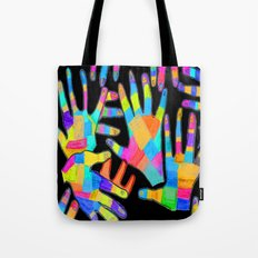 Hands of colors | Hands of light Tote Bag