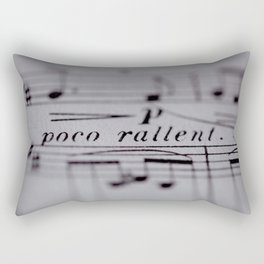 Slow Down Rectangular Pillow