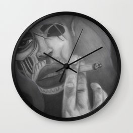 Living dead Girl! Wall Clock