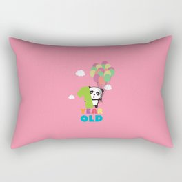 One Year old first Birthday Party T-Shirt Daydz Rectangular Pillow