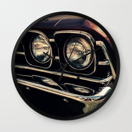 Vintage Car No.3 Wall Clock