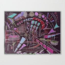shape party Canvas Print