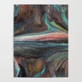 Blended Mineral Poster