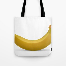 Banana isolated on white background Tote Bag