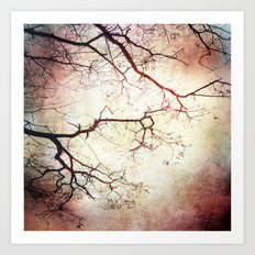 Listen To The Trees Art Print