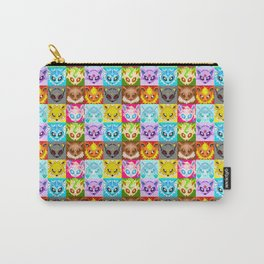Eeveelutions Quilt Carry-All Pouch