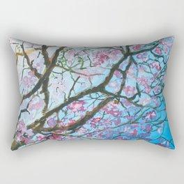 Pink Poui Rectangular Pillow