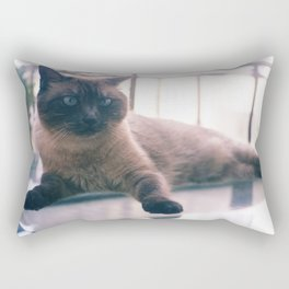Bibi_Cat Rectangular Pillow