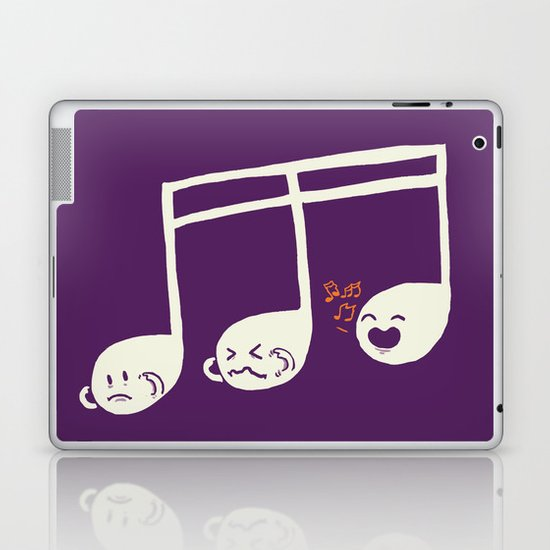Sounds O.K. (off key) Laptop & iPad Skin
