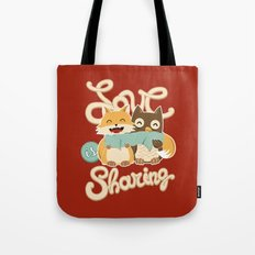 Love is Sharing Tote Bag