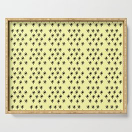 Stars 19- sky,light,rays,pointed,hope,estrella,mystical,spangled,gentle. Serving Tray