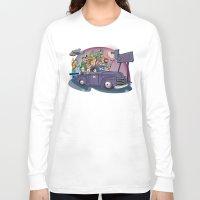 van Long Sleeve T-shirts featuring Van by manuvila