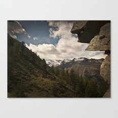 in the mountains Canvas Print