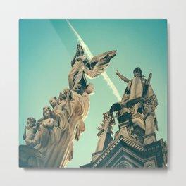 Angels Above Metal Print