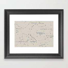 Constellation I Framed Art Print