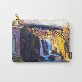 Waterfall at Paterson Great Falls National Historical Park Carry-All Pouch