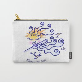 Flutes fly free Carry-All Pouch