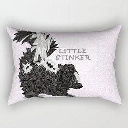 Little Stinker -pink- Rectangular Pillow