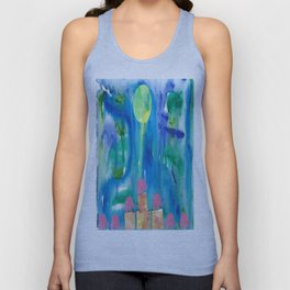 9 Penny the Pink Elephant Unisex Tank Top