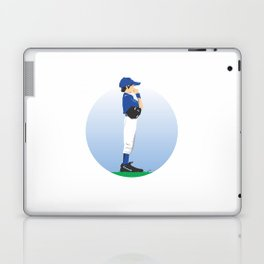Baseball Blue Boy Laptop & iPad Skin