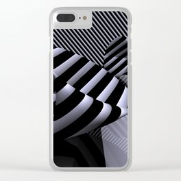 Steiner's Surface in OpArt-design Clear iPhone Case