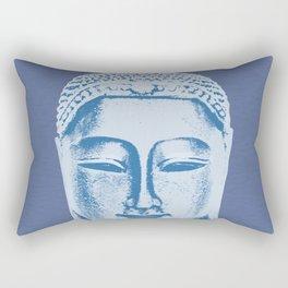 Blue Buddha Rectangular Pillow