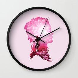 Cosmic Love Wall Clock