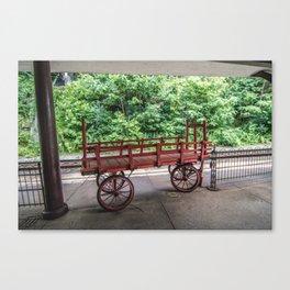 The Staunton Wagon Canvas Print