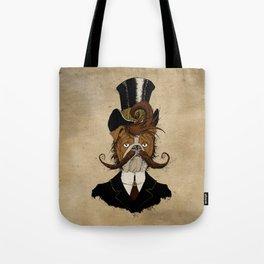 Fine Victorian Bulldog Tote Bag