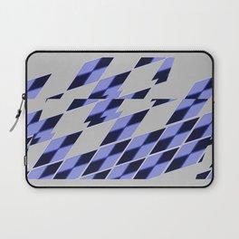 Blue Vibrate Plaid Laptop Sleeve