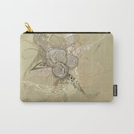 50 Shades of lace Gold Gold Carry-All Pouch